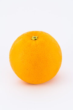full Sunkist orange isolated on white background