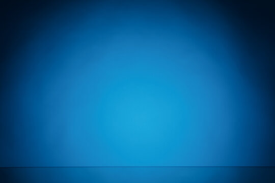 blue light paper background with copy-space