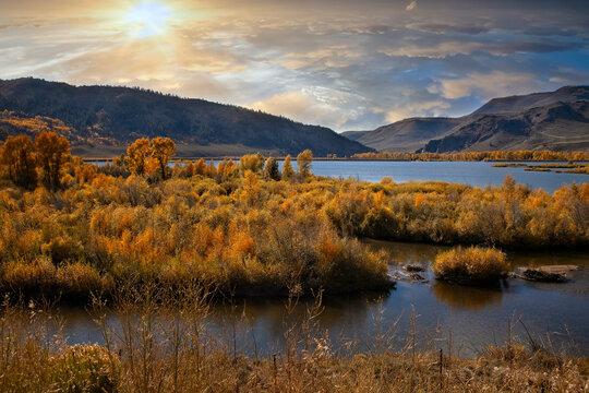 Colorful landscape in Colorado
