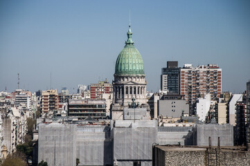 Beautiful panoramic landscape of buenos aires