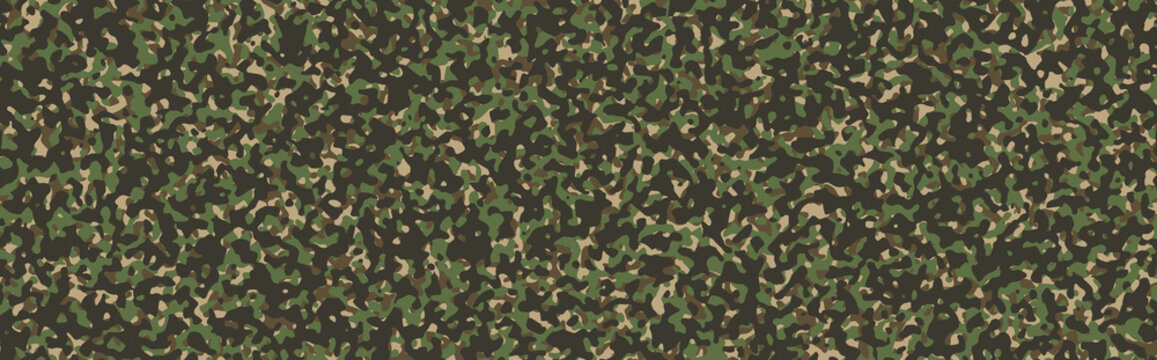Camouflage pattern. Military green background. Khaki texture.