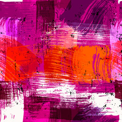 seamless abstract background composition, with paint strokes and splashes, grungy