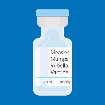 MMR vaccine against measles mumps and rubella