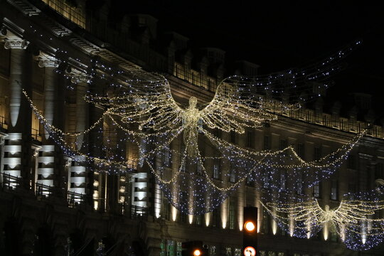 Christmas in London, England UK