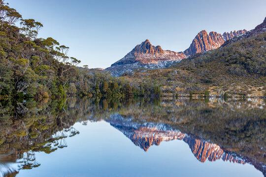 Cradle Mountain wilderness area Tasmania