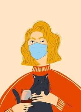 Quarantine Kitty