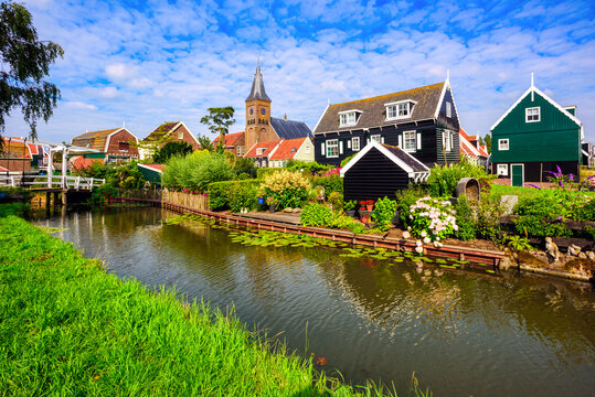 Marken village, North Holland, Netherlands
