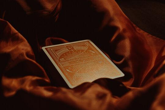 Rarebit playing cards back