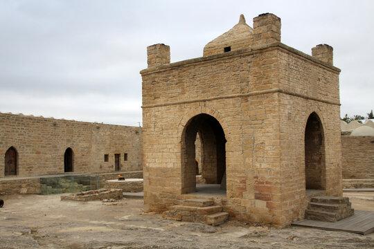 Fire Temple Ateshgah of Baku, Azerbaijan