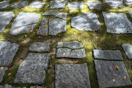 Stoned pathway in Jongmyo Shrine