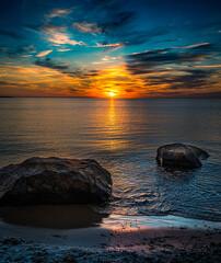 Sunset at Montauk
