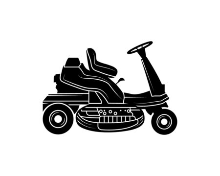 Riding Mower, lawn Mower, lawn Care, Mower Care, Cut file for silhouette