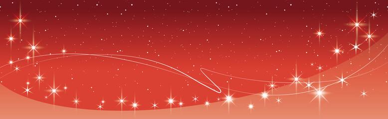 クリスマス_キラキラ_背景_赤_素材_横長02christmas_back_image