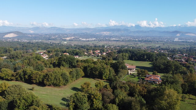 View from the Drone: mountain landscape
