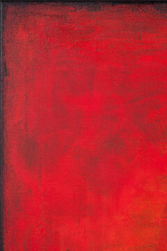 Red colored wall texture background.