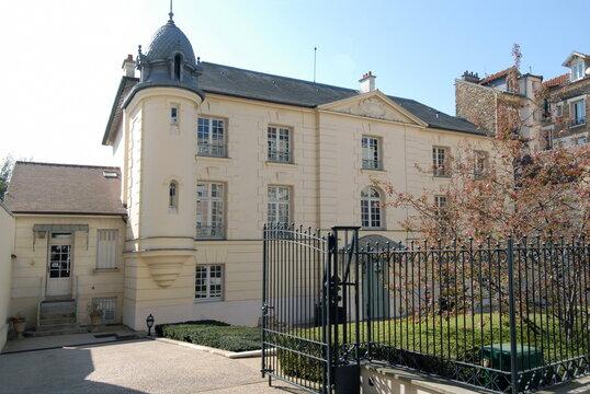 Ville de Nogent-sur-Marne, Hôtel des Coignards (fin XVIIe siècle), département du Val de Marne, France