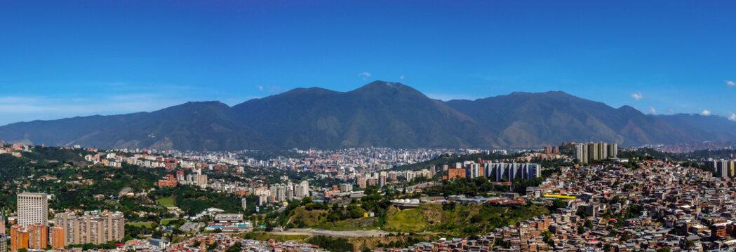 Panoramic view of Caracas, Venezuela