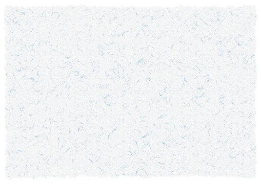 和紙テクスチャ模様入12【白/水色】