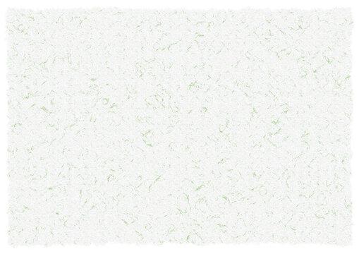 和紙テクスチャ模様入13【白/緑】