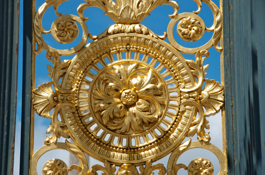 Gate embellishment in Jardin Des Tuileries, Paris, France