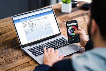 Online Bank Budget Computer App