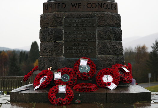 Remembrance Day in Spean Bridge