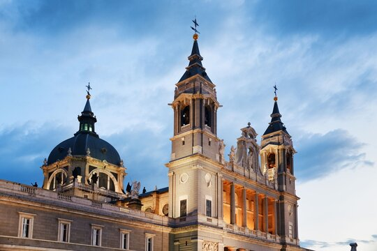 Madrid Cathedral of Saint Mary the Royal of La Almudena