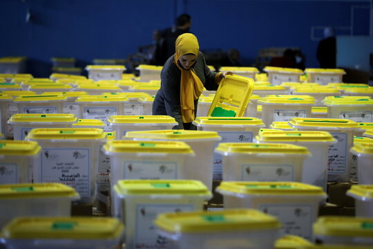 Jordan prepares for parliamentary elections amid fears over rising number of the coronavirus disease (COVID-19) cases