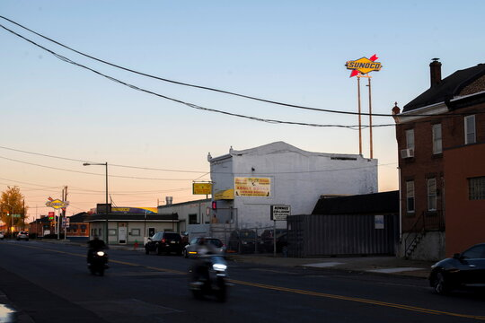 Fantasy Island adult entertainment store, located half a block away from Four Seasons Landscaping, the location of a press conference with President Donald Trump's legal team yesterday in Philadelphia