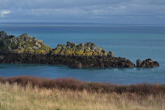 Paysage côtier - Pointe du Groin en Bretagne
