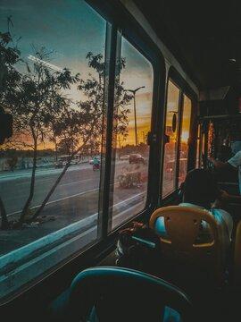 Vista do ônibus 222   Fortaleza-Ceará