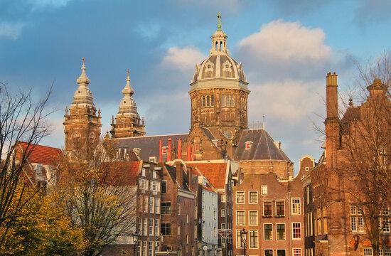 St. Nicholas Church in Amsterdam