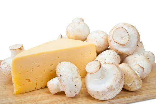 champignon mushroom with cheese