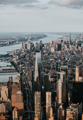 Aerial Views of New York City