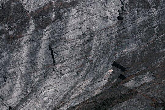 rocky stone slice in himalaya mountains