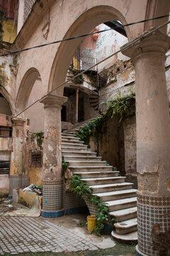Abandoned villa in Cuba.