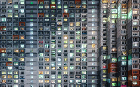 windows of crowded community