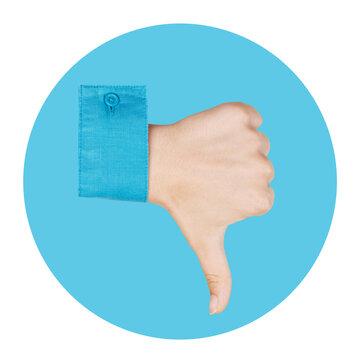 Thumbs Down Emoji