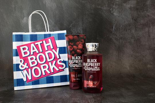 Phoenix, Arizona, November 5, 2020: Bath and Body Works Products