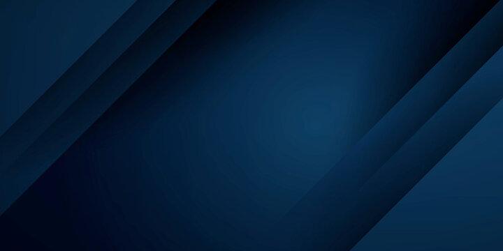 Dark blue abstract presentation background