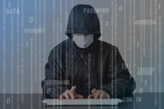 ハッキング・ハッカーイメージ