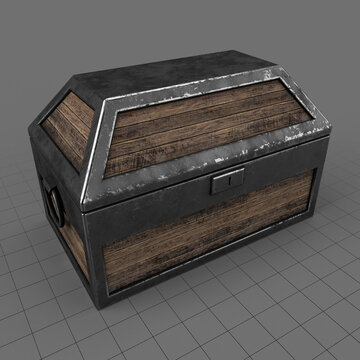 Small medieval chest