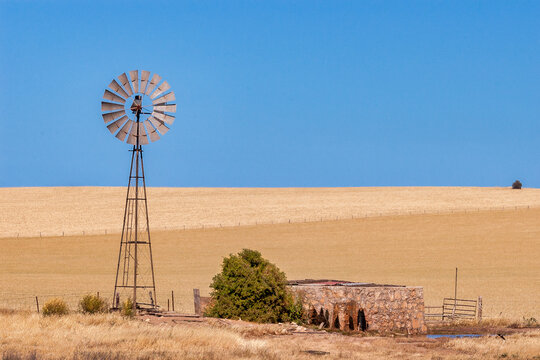 Windpump and Tank, South Australia