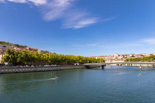 Alphonse Juin Bridge, Lyon, Rhone, France