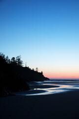 Cox Bay Beach in Tofino at Sunset