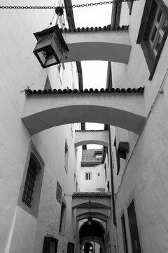 Bolzano, Bozen, Italy: old street