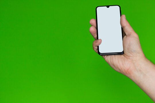 Ręka ze smartfonem #8