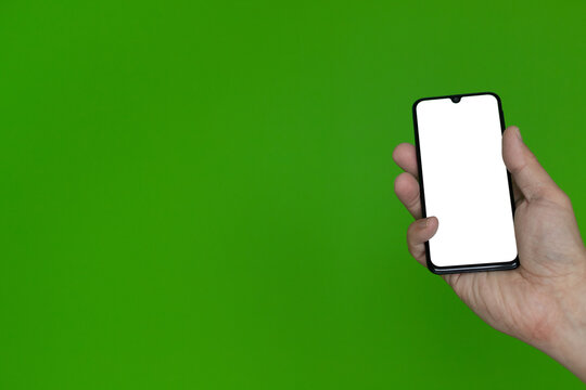 Ręka ze smartfonem #7