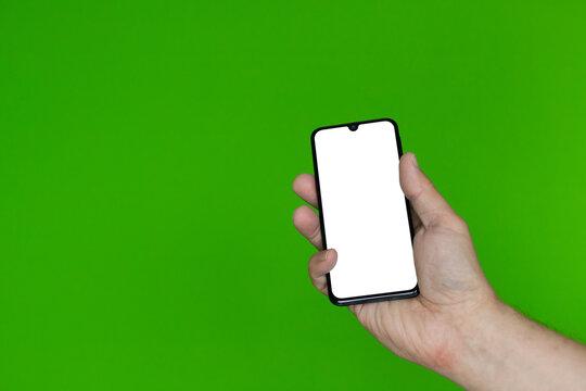 Ręka ze smartfonem #6