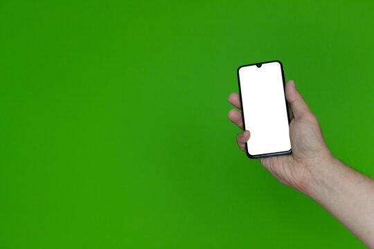 Ręka ze smartfonem #5